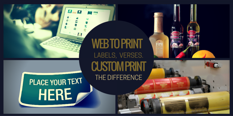 buying labels from web-to-print companies