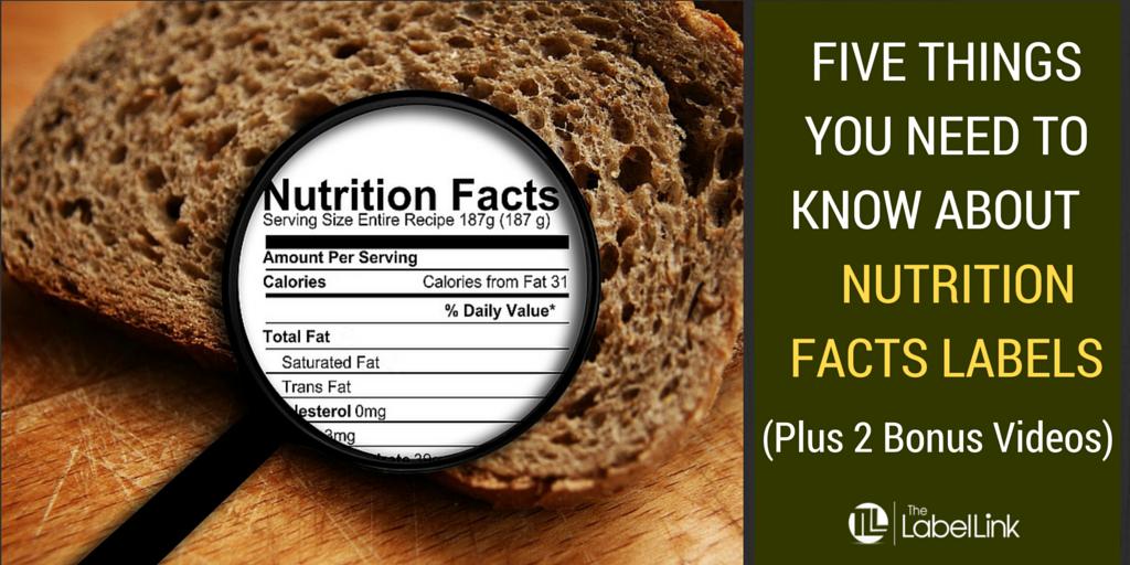 fda nutrition label guidelines 2016